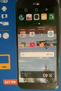 black LG android smartphone with box Oakland, 94605