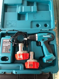 Blue and black makita cordless drill Edmonton, T6L 4P9