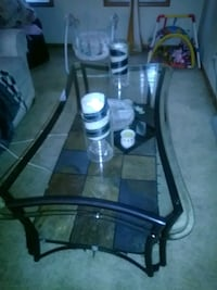 glass and tile coffee table Minneapolis, 55411