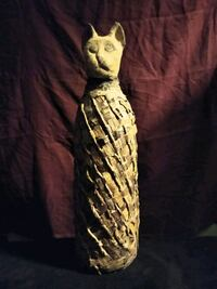 Egyptian mummified cat sarcophagus prop Albuquerque, 87108