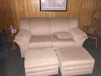 Sofa bed and matching ottomans Toronto, M9R 2P8