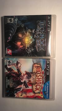 PS3 Bioshock 2 Bioshock infinite