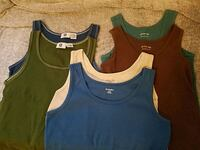 Ladies tanktops, l & xl, all from JCP Vail, 85641