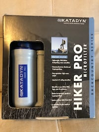 Katadyn hiker pro backcountry series water filter Oakville, L6H 2V6