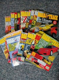 Road and Track Magazines 1999-2001