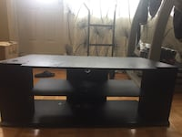 Black and brown wooden tv stand Hamilton, L8H 2K7