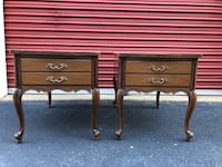 Set of 2 French Provincial End Tables/Nightstands  Woodbridge, 22192
