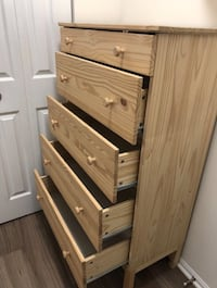 IKEA TARVA 5-drawer chest