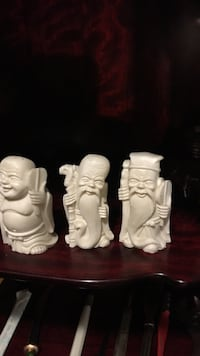 2 1/2 inch tall wisdom,longevity and happiness statue