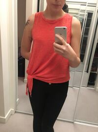 Coral Tank from Anthropologie  3752 km