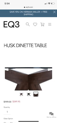 EQ3 Husk Dinette Table Toronto, M5V 4A7