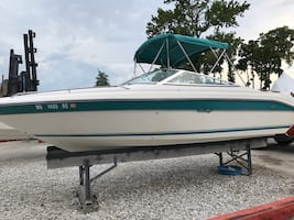SeaRay 220 with trailer