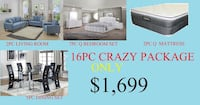 Furniture sale crazy package  Houston, 77036