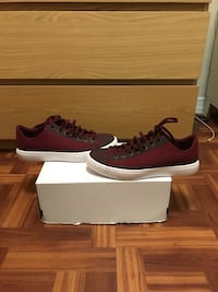 pair of brown Nike low-top sneakers with box West New York, 07093