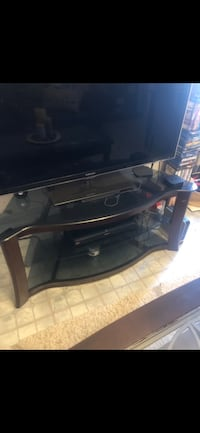 black and gray TV stand New York, 11103