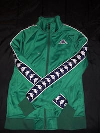 green and white zip-up hoodie Kill Devil Hills, 27948