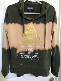 Urban Hoodie with a great message...xl Silver Spring, 20904