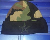 black, green, and brown camouflage knit cap Hatfield, AL10 8XX