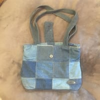 Donna Sharp Denim Patchwork Purse Woodbridge