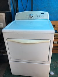 white front-load clothes washer San Fernando, 91340