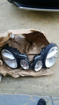 Mercedes Benz E350 headlights