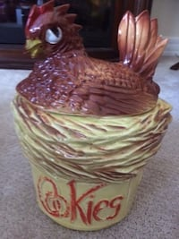Rooster Cookie Jar $25 No Chips or Breaks (Coquitlam) Coquitlam