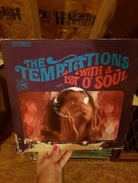 Temptations soul vinyl Chantilly, 20152