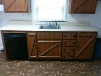 white and brown wooden kitchen cupboard Greensburg, 15601