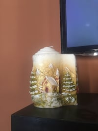 winter scene candle made in Italy Baltimore, 21237