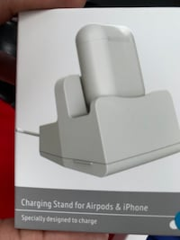 Airpods, (new never opened)  Airpods/iPhone Charging case Airpods case