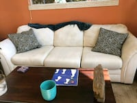 Queen sofabed with pillows Crestline