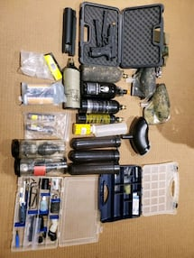Paintball equipment and gun