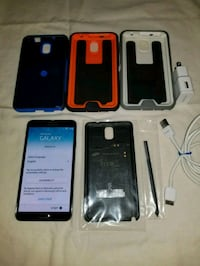 Samsung Galaxy Note 3 Tmobile with extras!!!