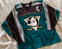OFFICIAL MIGHTY DUCKS JERSEY Vancouver, V6E 1S9