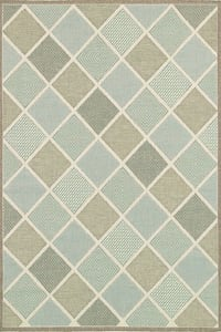 Couristan blue green and gray area rug Belmar, 07719