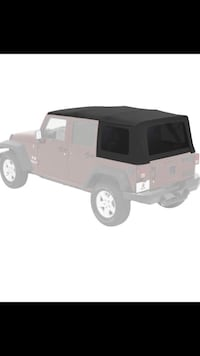 Brand new still in box JEEP Wrangler 2016 JKU OEM soft top - unopened/unused New Hyde Park, 11040