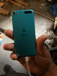 4th generation blue iPod Touch