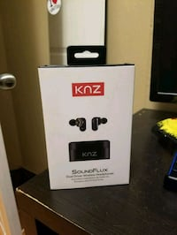 KNZ soundflux bluetooth headphones Vancouver, V5N 4R8