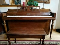baldwin wooden framed upright piano Lake Zurich