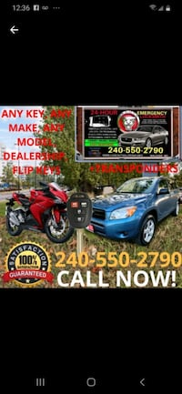 Bicycle Keys & Car Remotes Oxon Hill