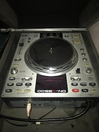 Gray and black dj cd turntables Grand Rapids, 49507