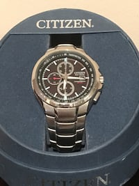 Citizen Ecodrive chronograph stainless watch