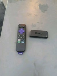 black Roku TV box with remote Fort Collins, 80526