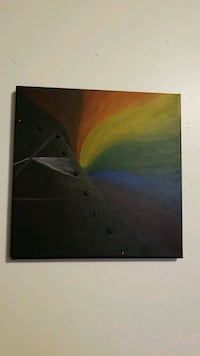 Pink Floyd inspired painting on canvas  Pittsburgh, 15206