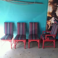 4 custom new fabric chairs Bowie, 20720