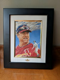 Mark McGwire St. Louis Cardinals Limited Edition #851/2100 w/COA