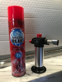 Torch and Butane