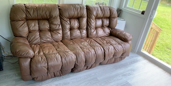 Used Real Leather Couches For Sale In Knightdale Letgo