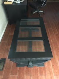 Black Wood and Glass Coffee Table Fort Smith, 72908