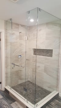 Frameless Glass Shower Brampton